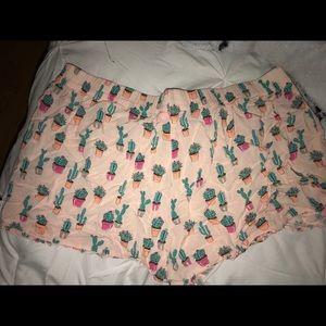 Jenni Intimates & Sleepwear - Jenni intimates cactus 🌵 ruffled sleep short sz L